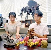 恐竜トリケラトプスは機敏動き苦手?