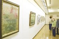 実力派作家12人 日本画37点展示 越前市のギャラリー