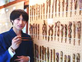 手作り箸専門店