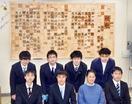 敦賀高の校歌レリーフ半年掛け完成