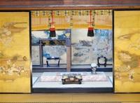 京の御所文化触れ バスツアー試乗 尼門跡寺院巡る 障壁画や屏風 趣深く