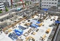 大型事業 完成遅れ懸念 敦賀市の新市庁舎、角鹿小中建設 コロナ、資材調達影響 工期圧縮 細分化図る