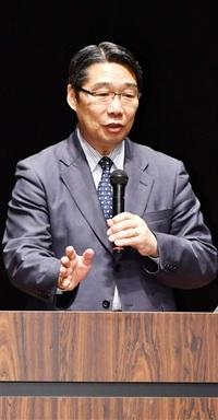 平和教育大切さ訴え 前川元事務次官が講演 福井、個人の尊厳強調