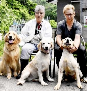 親子4代警察犬一家、3匹が現役