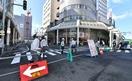 福井駅西口の再開発工事始まる