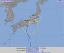 台風6号上陸、福井に夕ごろ最接近