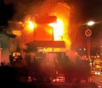 福井で火災 1人死亡 住宅全焼 不明20代女性か