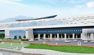 福井県敦賀市が推薦案に決めた北陸新幹線敦賀駅舎のC案
