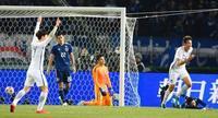 日本、韓国に完敗でV逃す