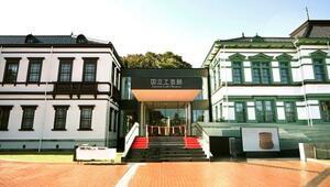金沢市に移転し開館する東京国立近代美術館工芸館(国立工芸館)=24日午前