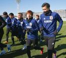 サッカー、V懸かる日韓戦へ調整
