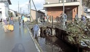 花野谷山麓名水保存会 「里川認定」で清掃に力 …