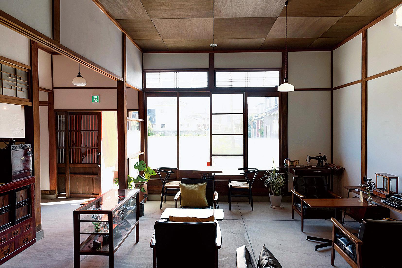 敦賀病院裏通りの古民家カフェ