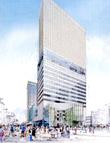福井駅前120mビルのイメージ図