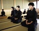 粟野剣道教室生座禅で精神修行 敦賀の寺で体験