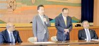 県農政連は杉本氏 北島会長、情熱を評価 激動知事選_統一地方選ふくい