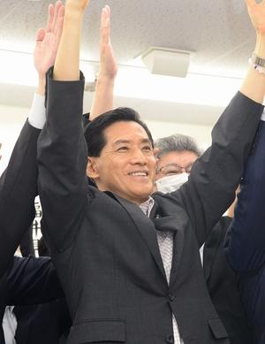 【Web号外】小浜市長に松崎氏4選