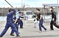 国体選手らの安全確保へ訓練