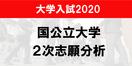 前期試験2020志願者、過去20年で最少