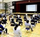 森田小2校化案に住民「早期実現を」 福井市教委…