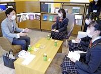 社長に学ぶ人生の一冊 福井 仁愛女高生インタビュー