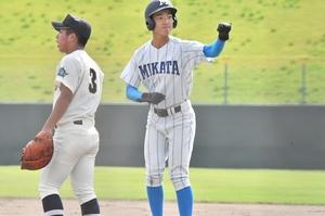【写真】高校野球、美方―…