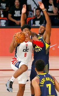 NBA、八村は先発して9得点