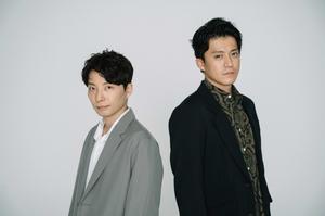 映画『罪の声』を通して伝えたいことを語った(左から)星野源、小栗旬【撮影:KOBA】 (C)ORICON NewS inc.