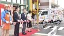 移動スーパー鯖江で出発式 ヤスサキ、4市目