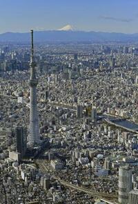 東京の暮らし、地球3個分