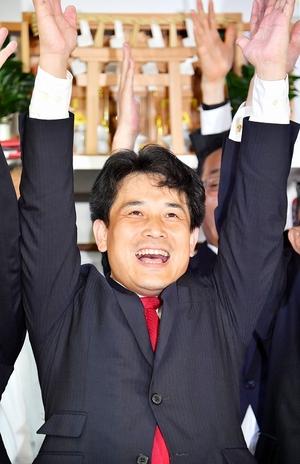 参院選福井、滝波宏文氏が再選
