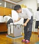 福井県内初、高校に期日前投票所