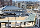 廃線の駅跡が新バスターミナルに