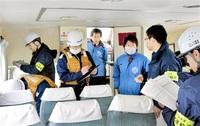 年末年始特別警戒遊覧船の安全点検 小浜・蘇洞門めぐり