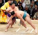 相撲、貴景勝が11勝で首位守る