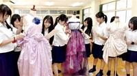 生徒考案ドレス 形に 美方高生活情報科桂さんショーで披露 26日若狭町 展示用制作も