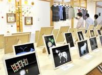 名田庄の文化活動見て おおい・地区民「里山まつり」 絵画や写真、動画も