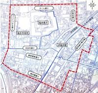 再開発事業を優遇 福井駅周辺 都市再生地域に国指定