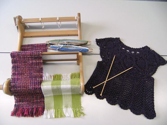 手織り&手編み 小物ハンドメイド