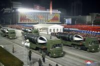 北朝鮮発射、新型SLBMか