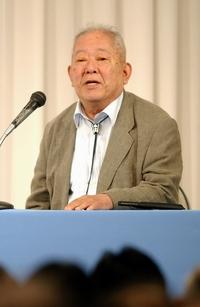 ノーベル賞の小柴昌俊さん講演会で冷や汗
