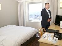 加熱式たばこ向けホテル客室が好調
