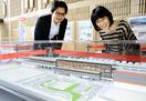 北陸新幹線4駅の模型一堂に