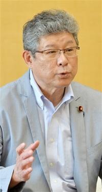 新幹線敦賀以西へ正念場 自民・高木衆院議員が来社