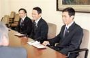 インドネシア3人農業研修修了報告 県 庁