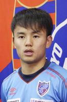 サッカー、日本代表に久保建