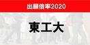 東工大2020出願倍率