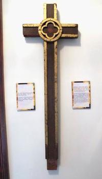 長崎の被爆十字架、米から返還へ