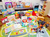 おもちゃ図書館、親子に憩いの場