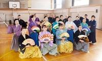福井で剣詩舞の初舞、精進誓う